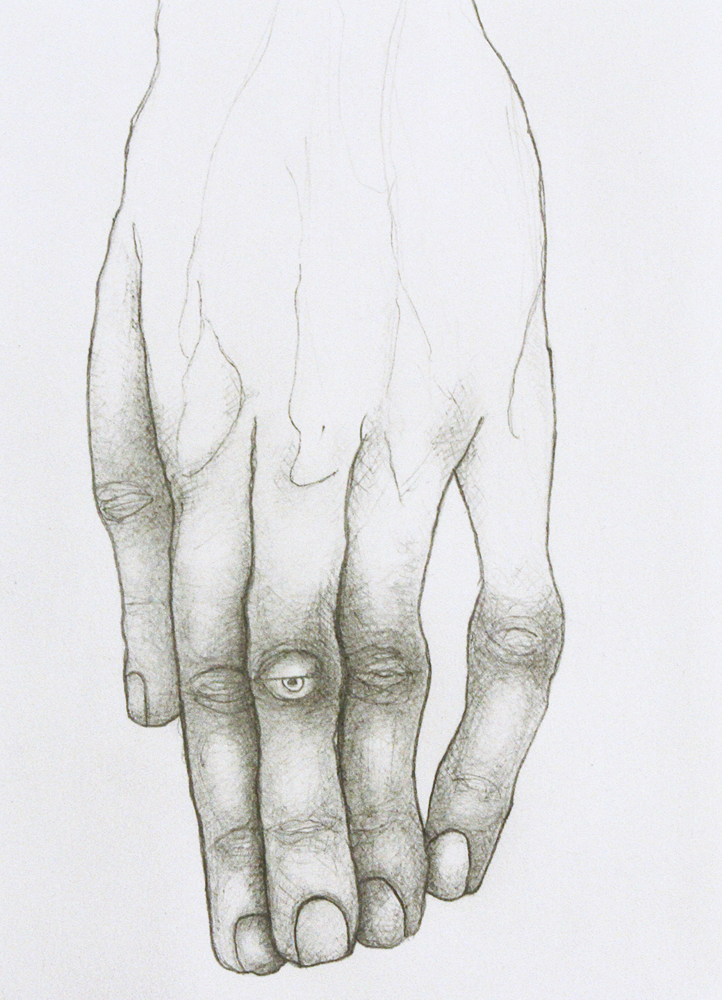 Untitled (Eyeball Knuckle)