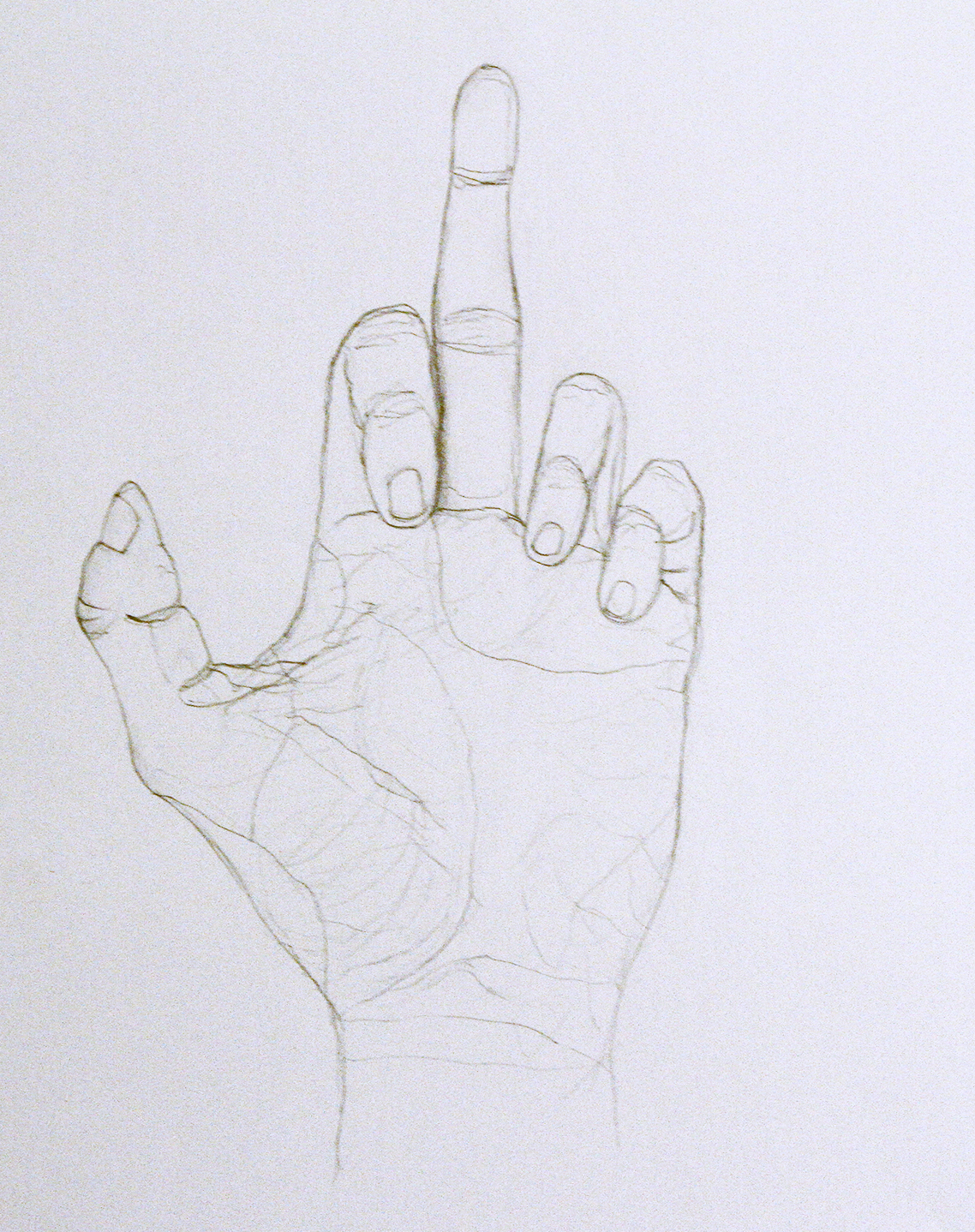 Flip Off Drawings